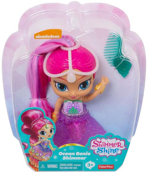 Fisher Price Shimmer & Shine Ocean Genie Shimmer 6-Inch Basic Doll