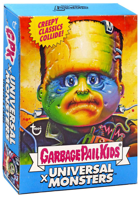 Garbage Pail Kids Wave 3 Universal Monsters Trading Card Box [24 Packs]