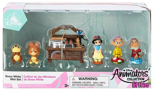Disney Littles Animators' Collection Snow White Mini Set Exclusive Mini Set