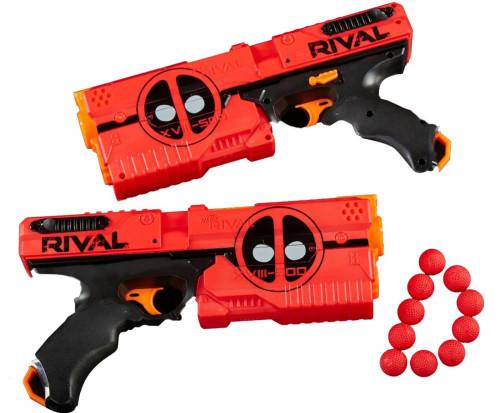 Marvel Deadpool Nerf Rival Kronos XVIII-500 Blaster Set