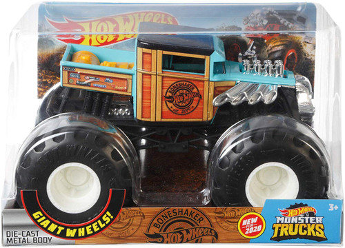 Hot Wheels Monster Trucks Boneshaker Diecast Car
