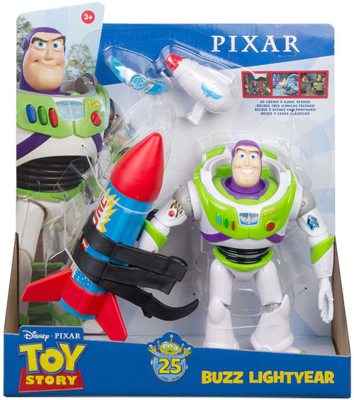 Toy Story 25th Anniversary Buzz Lightyear Action Figure