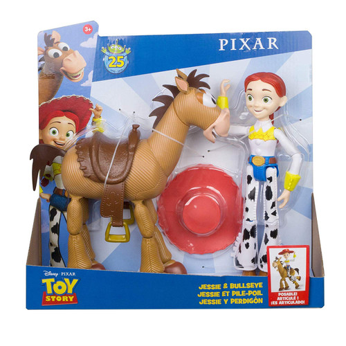 Toy Story 25th Anniversary Jessie & Bullseye Action Figure 2-Pack
