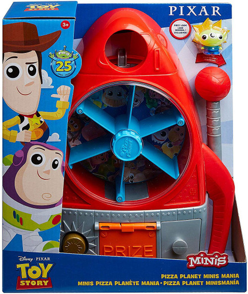 Toy Story 25th Anniversary Pizza Planet Minis Mania 3 In 1 Playset