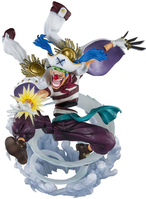 One Piece Figuarts ZERO Buggy the Clown Extra Battle 7.4-Inch Statue [Paramount War]