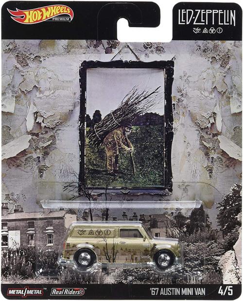 Hot Wheels Led Zeppelin '67 Austin Mini Van Die-Cast Car #4/5