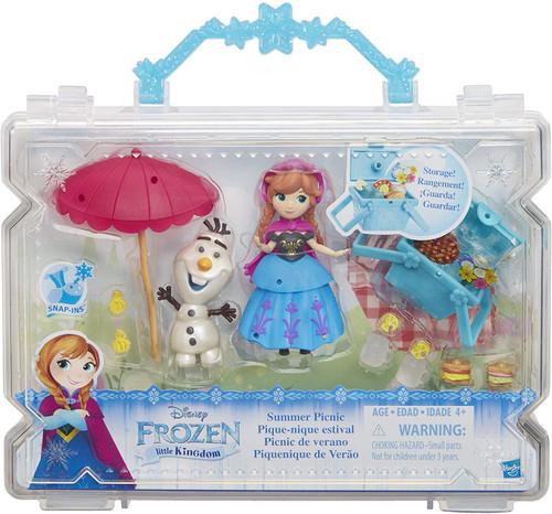 Disney Frozen Little Kingdom Summer Picnic Mini Doll Playset