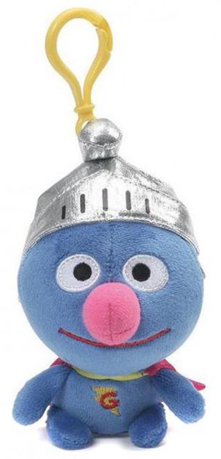 Sesame Street Super Grover 5-Inch Plush Backpack Clip