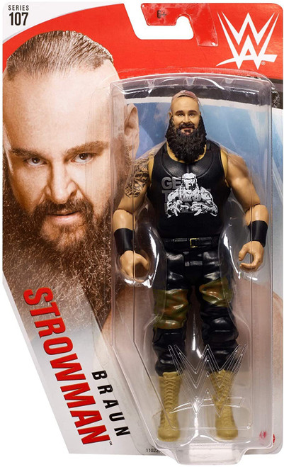 WWE Wrestling Series 107 Braun Strowman Action Figure