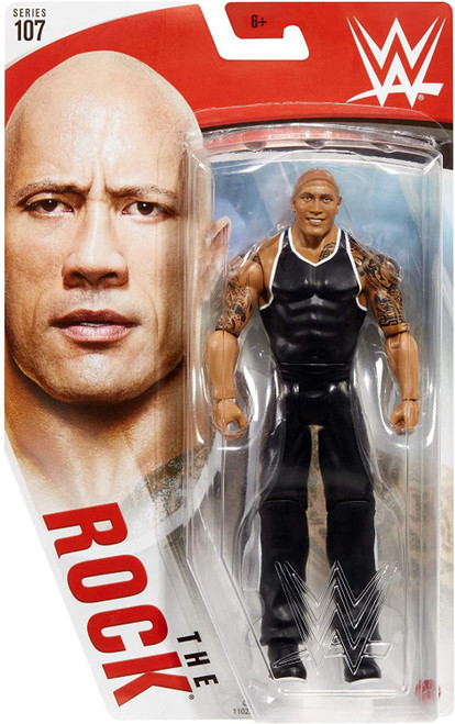 WWE Wrestling Series 107 The Rock Action Figure