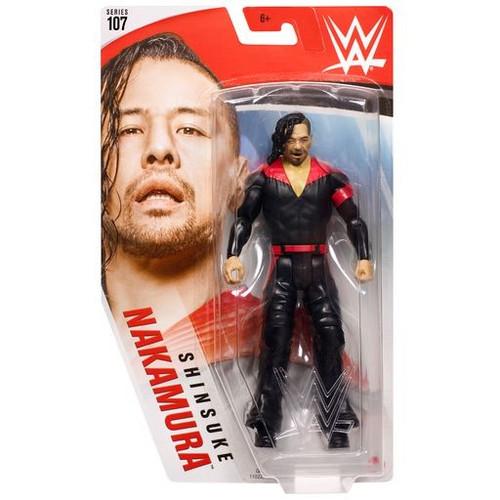 WWE Wrestling Series 107 Shinsuke Nakamura Action Figure [Black Outfit]