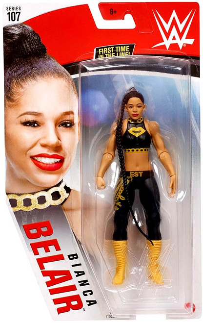 WWE Wrestling Series 107 Bianca Belair Action Figure