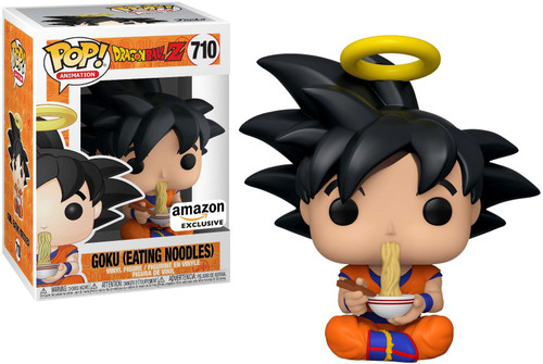 Funko Dragon Ball Z POP! Animation Goku (Eating Noodles) Exclusive Vinyl Figure #710