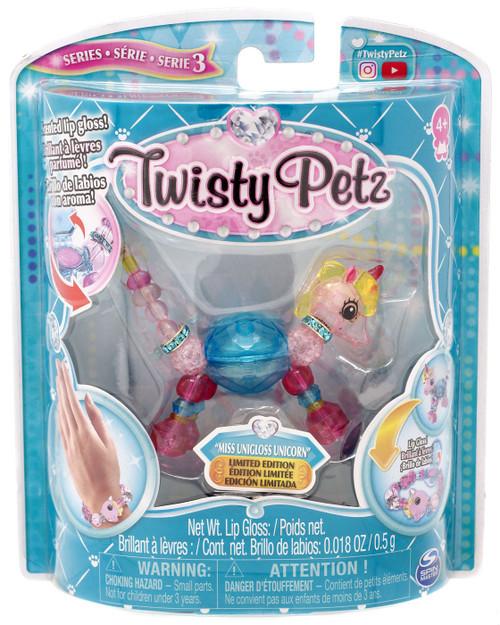 Twisty Petz Series 3 Miss Unigloss Unicorn Bracelet [Damaged Package]