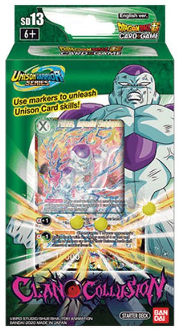Dragon Ball Super Collectible Card Game Unison Warrior Clan Collusion Starter Deck ST13 [Green]
