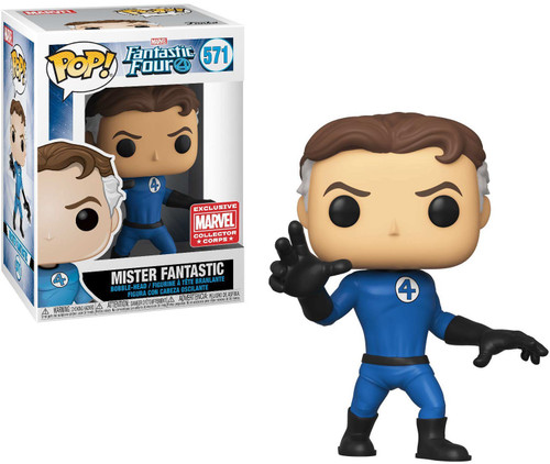 Funko Fantastic Four POP! Marvel Mister Fantastic Exclusive Vinyl Figure #571