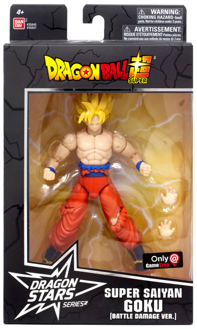 Dragon Ball Super Dragon Stars Series Super Saiyan Goku Exclusive Action Figure [Battle Damged Ver.]