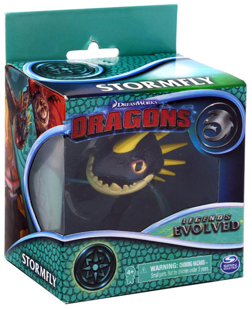How to Train Your Dragon Dragons Legends Evolved Stormfly 3-Inch Figure