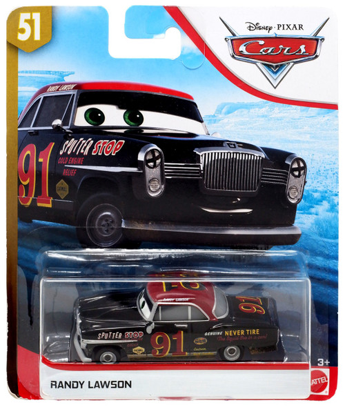 Disney / Pixar Cars Cars 3 Doc's Racing Days Randy Lawson Diecast Car