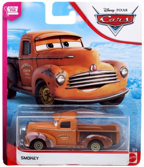 Disney / Pixar Cars Cars 3 The Cotter Pin Smokey Diecast Car [Version 2]