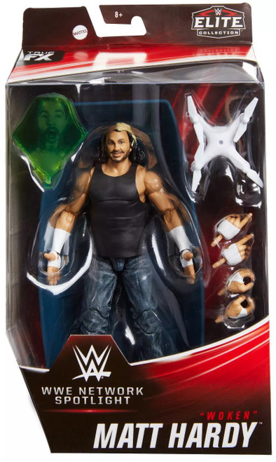 "WWE Wrestling Elite Network Spotlight Matt Hardy Exclusive Action Figure [""Woken""]"