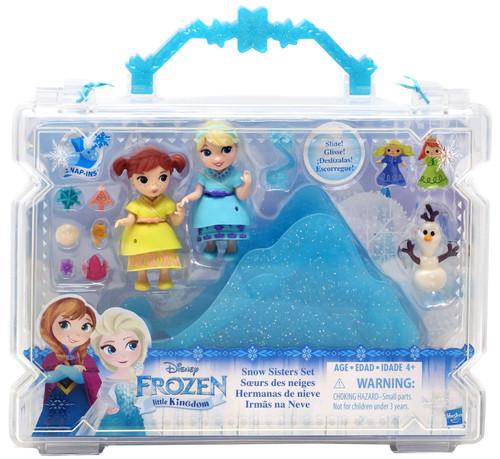 Disney Frozen Little Kingdom Snow Sisters Mini Doll Playset