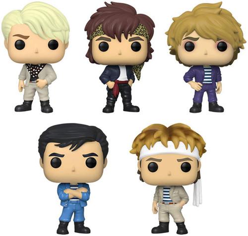 Funko Duran Duran POP! Rocks Simon Le Bon, Roger Taylor, Nick Rhodes, John Taylor & Andy Taylor Vinyl Figure [Set of 5]