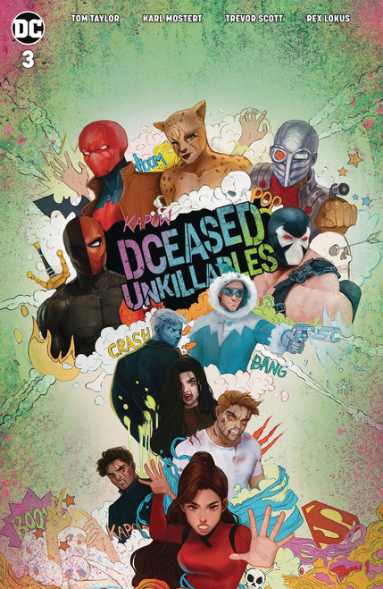 DCeased #3 of 3 Unkillables Comic Book [Yasmin Putri Movie Variant Cover]