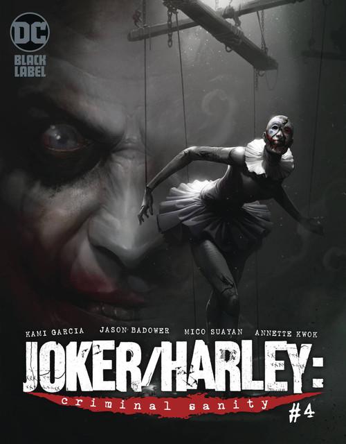 DC Black Label Joker & Harley Criminal Sanity #4 of 9 Comic Book