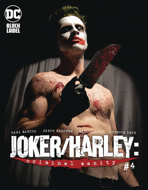 DC Black Label Joker & Harley Criminal Sanity #4 of 9 Comic Book [Mike Mayhew Variant Cover]