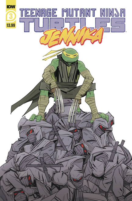 IDW Jennika #3 Comic Book