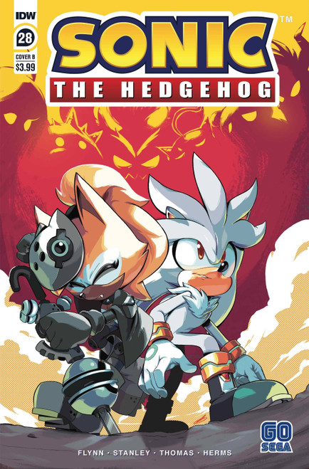 IDW Sonic The Hedgehog #28 Comic Book [Bracardi Curry Variant Cover]