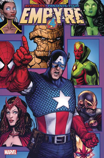 Marvel Comics Empyre #1 of 3 Avengers Comic Book