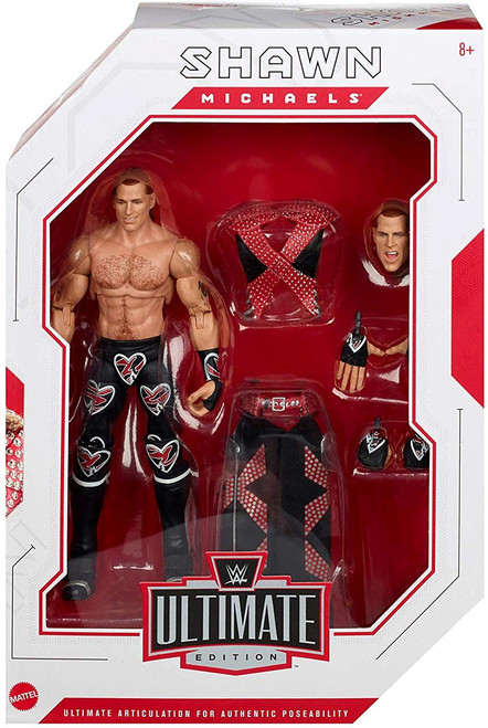 WWE Wrestling Elite Collection Ultimate Shawn Michaels Action Figure