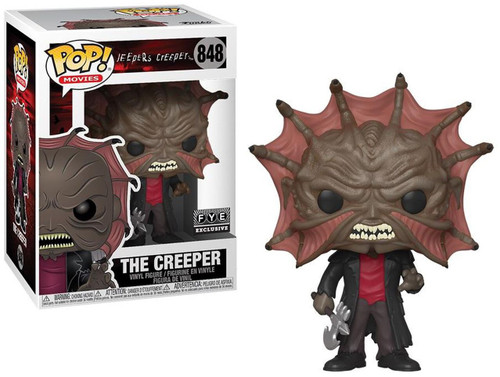 Funko Jeepers Creepers POP! Movies The Creeper Exclusive Vinyl Figure #848 [No Hat, Damaged Package]