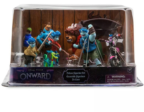 Disney / Pixar Onward Exclusive 8-Piece PVC Figure Playset