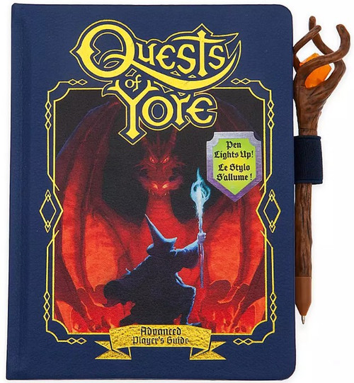 Disney / Pixar Onward Quests of Yore Exclusive Replica Journal & Pen Set