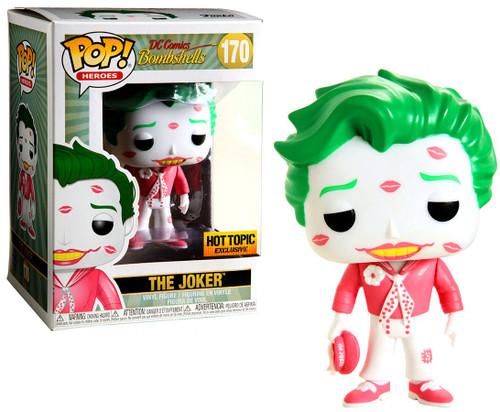 Funko DC Bombshells POP! Heroes The Joker with Kisses Exclusive Vinyl Figure #170 [Pink & White]
