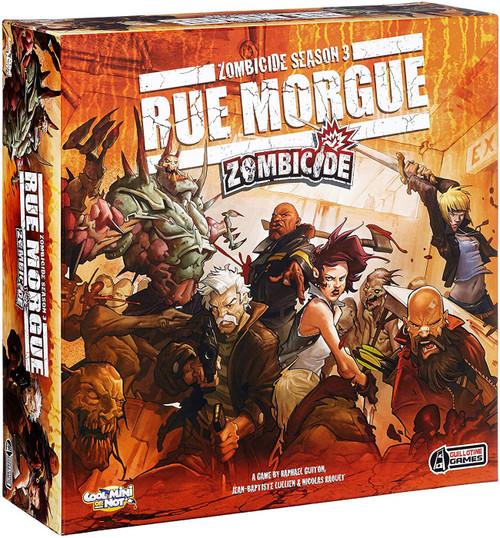 Zombicide Rue Morgue Board Game Expansion