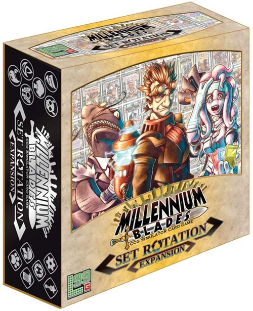 Millennium Blades Set Rotation Board Game Expansion