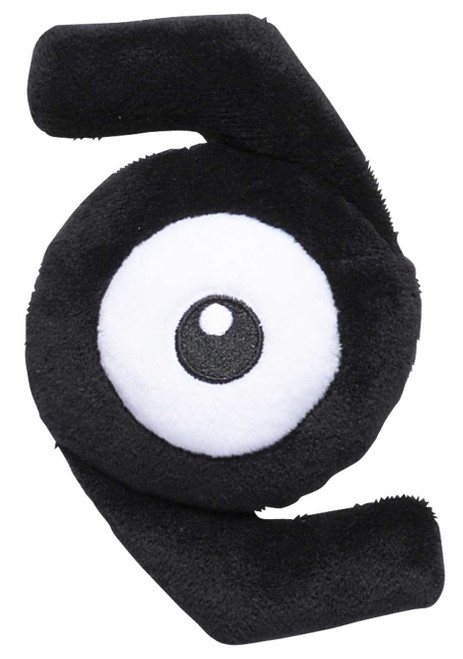 Pokemon Sitting Cuties Unown Z Exclusive 5.5-Inch Plush