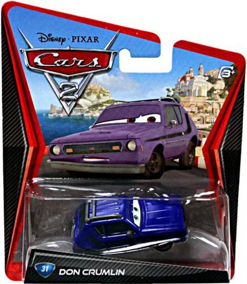 Disney / Pixar Cars Cars 2 Main Series Don Crumlin Diecast Car [Damaged Package]