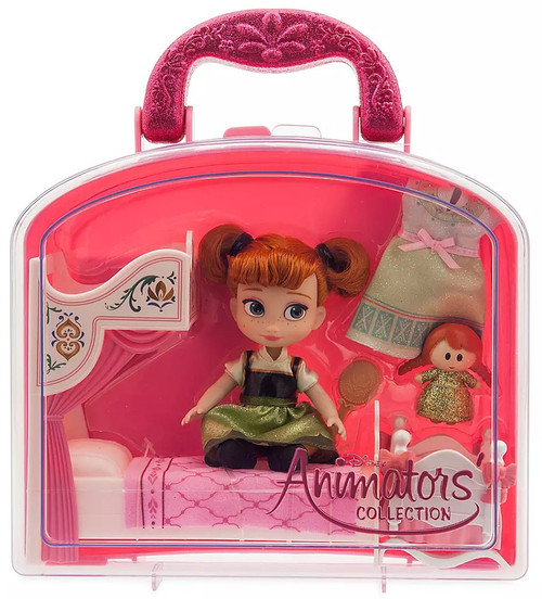 Disney Frozen Animators' Collection Anna Exclusive Mini Doll Playset [2020]