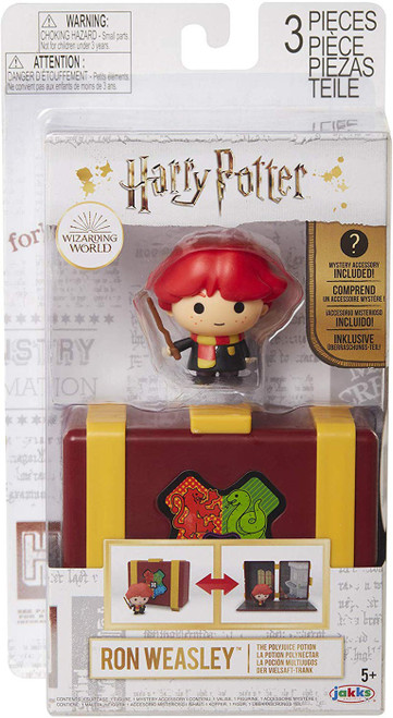 Harry Potter The Polyjuice Potion Ron Weasley Mini Figure Playset