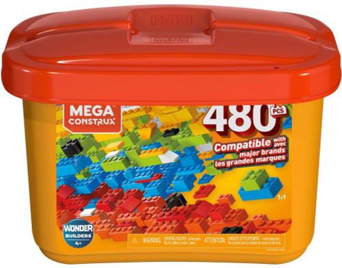 Mega Construx Wonder Builders 480 Piece Tub