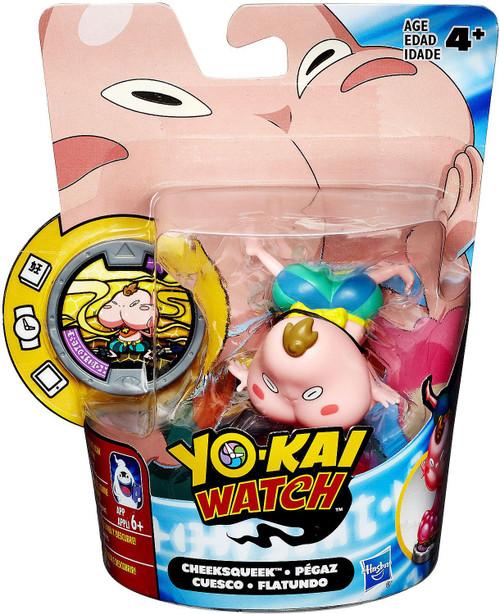 Yo-Kai Watch Medal Moments Cheeksqueek Mini Figure