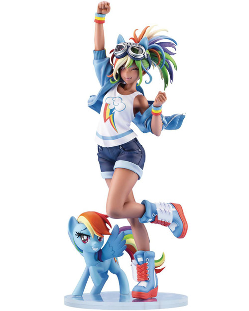 My Little Pony Friendship is Magic Bishoujo Rainbow Dash Statue (Pre-Order ships November)