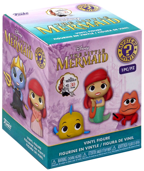 Funko Disney Mystery Minis The Little Mermaid Mystery Pack