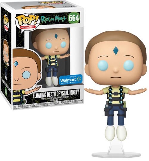 Funko Rick & Morty POP! Animation Floating Death Crystal Morty Exclusive Vinyl Figure #664