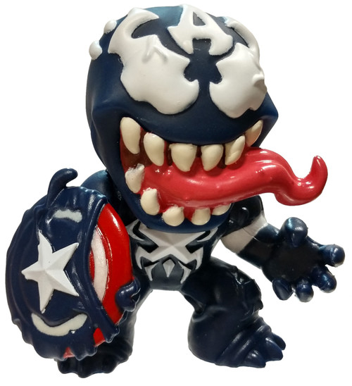 Funko Marvel Venomized Captain America 1/6 Mystery Minifigure [Loose]